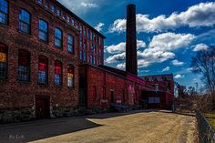 Roy Hill Mill Roy Continental Mill Lewiston Maine - Original fine art urban factory street photography by Bob Orsillo.   Copyright (c)Bob Orsillo / http://orsillo.com - All Rights reserved.