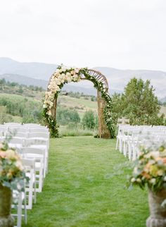 Rustic Elegance in Beaver Creek at Red Sky Ranch Read more - http://www.stylemepretty.com/2014/02/11/rustic-elegance-in-beaver-creek-at-red-sky-ranch/