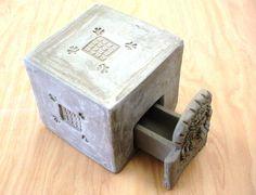 Slab box with drawer