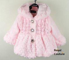 Royal Chenille Coat.... Sooo pretty!!!!
