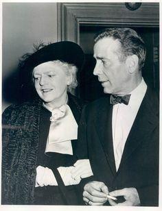 Ethel Barrymore & Humphrey Bogart