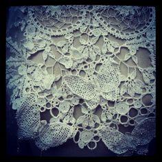 # Textile art # hook # wedding # wedding # severineledore