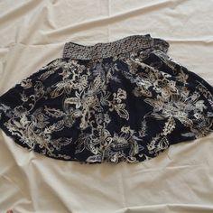 "Selling this ""Navy blue floral skirt"" in my Poshmark closet! My username is: krdefacci. #shopmycloset #poshmark #fashion #shopping #style #forsale #Aeropostale #Dresses & Skirts"