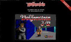 Para jogar Wolfenstein 3d no browser (comemoração dos 20 anos)