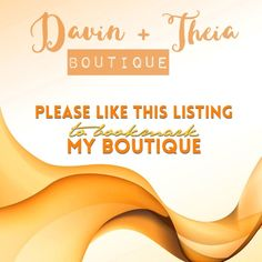 """Welcome to Davin+Theia Boutique 💖 Hi! Thank you for checking out my Boutique.💖  💟All my items are brand new and come straight from the manufacturer/distributor.  💟Feel free to ask any questions. I'd be happy to answer all of them.  💟If you want to bundle more than two items, let me know by tagging me on the items so I can make a separate listing for you.  💟Submit offers thru the """"Offer"""" button only.  💟NO Trades.  Thanks for stopping by! Feel free to leave a comment so that I can check…"""