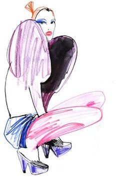 Lovisa Burfitt - Fashion Link: Fashion Illustrations