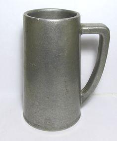 Vintage Wilton Armetale Pewter Tankard Stein Noggin With Bell Columbia, PA