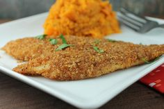 This crunchy coated tilapia recipe makes a low calorie, healthy meal for anyone…