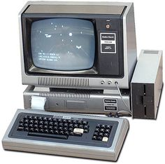 What my first computer looked like...it used cassette tapes for data storage.