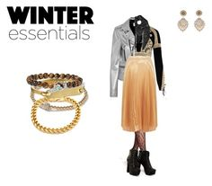 """""""Winter is coming"""" by fadumahassan on Polyvore featuring For Love & Lemons, Yves Saint Laurent, Miguel Ases, Nicole Miller, Topman, King Ice, Giles & Brother and Peyote Bird"""