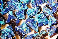 Treat your Miles from Tomorrowland party guests to swirling space bark!