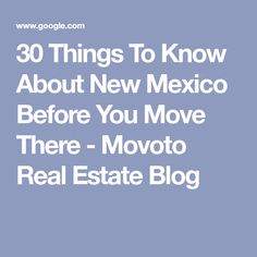 30 Things To Know About New Mexico Before You Move There - Movoto Real Estate Blog Earthship Biotecture, Land Of Enchantment, Things To Know, New Mexico, Real Estate, Blog, Real Estates, Blogging