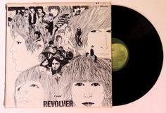 The Beatles: Revolver LP 1966 - Capitol Records (Apple) Vinyl VG/ Cover G+ #BritishInvasionRocknRoll