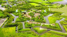 Fort Bourtange, the Netherlands