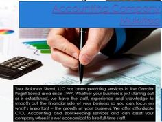 Accounting company mukilteo  The success of many organizations hinges on the success of the accounting firm that they hire. Browse this site http://YourBalanceSheetLLC.com for more information on accounting company Mukilteo. It becomes an imperative to use an accounting company scorecard to improve their services. Accounting is very important in the day to day life for the business to grow and flourish. Therefore it is important that you choose the best accounting company Mukilteo. Follow…