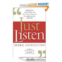Just Listen by Mark Goulston