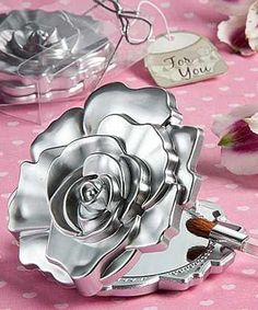 recuerdos para quinceanera personalizados espejos compactos | Espejo Compacto