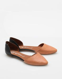 Leather flats from Jeffrey Campbell
