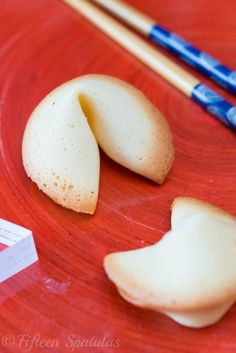 Homemade Fortune Cookies from @Fifteen Spatulas | Joanne Ozug