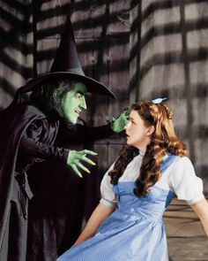 Judy Garland as Dorothy Wizard of Oz  One of the first famous fantasies.
