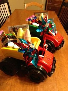 Easter Basket Idea for Boys