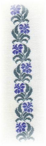 Cross Stitch Borders, Cross Stitch Flowers, Cross Stitch Designs, Cross Stitch Patterns, Cross Stitch Embroidery, Hand Embroidery, Palestinian Embroidery, Crochet Cross, Stitch 2