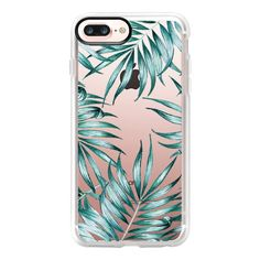 Island Life iPhone and ipod Case - iPhone 7 Plus Case And Cover (€35) ❤ liked on Polyvore featuring accessories, tech accessories, phone, phone cases, cases, phonecases, iphone case, clear iphone case, apple iphone case and iphone cases