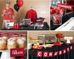 High School Graduation Party Ideas | ... graduation party can easily be adapted using different school colors