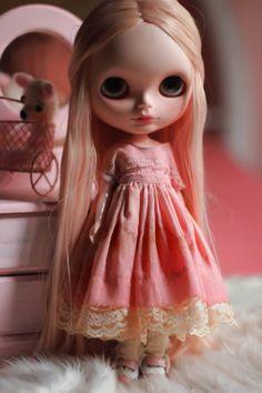 Sweet Dress  Pink  Blythe Doll von CutieStorecom auf Etsy, $60.00
