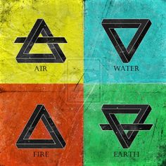 4 elements by Narcissus-art