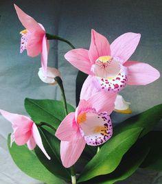 #papercraft #paperart #papier #nature #botanical #paperflowers #orchids #orchidee #diy