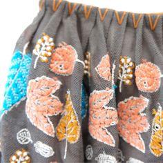 Mina Perhonen embroidered skirt