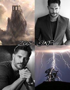 Zeus, dios de las tormentas y el trueno, señor del Olimpo. https://www.facebook.com/GreekGodsRP