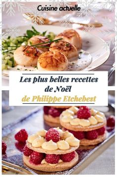 Les 10 plus belles recettes de Noël de Philippe Etchebest A four-star Christmas dinner with the delicious recipes of chef Philippe Etchebest. Super easy to repeat Christmas recipes to treat you during the holidays from entry to dessert. New Years Eve Dinner, Dinner For 2, Chefs, Meals No Refrigeration, Cinnamon Roll Bread, Best Christmas Recipes, Christmas Dinners, Eating Bananas, Some Recipe