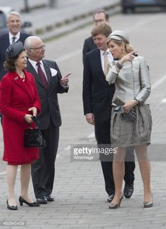 King Carl XVI Gustaf Of Sweden And Queen Silvia Of Sweden On An Official Two Day Visit In Holland | April 2014