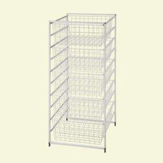 41 in. H Drawer Kit with 5 Wire Baskets