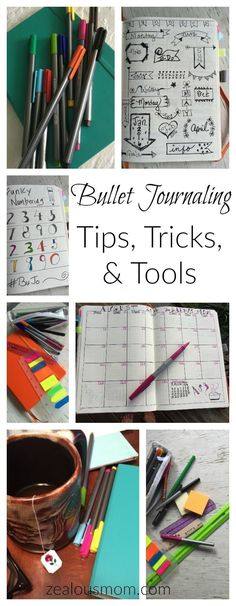 Bullet Journaling: Tips, Tricks, & Tools Are you a fan of bullet journaling? Check out these tips, tricks, & tools to make your Bullet Journal even more creative and fun. Bullet Journal Junkies, Bullet Journal Inspo, Bullet Journal Layout, Bullet Journals, To Do Planner, Planner Ideas, Happy Planner, Passion Planner, Bullet Journal How To Start A