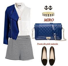 """Brunch in a yacht"" by mara-montandon on dots Love Fashion, Fashion Outfits, Womens Fashion, Fashion Trends, Fashion Shoes, Nautical Fashion, Nautical Style, Boating Outfit, Polyvore Fashion"