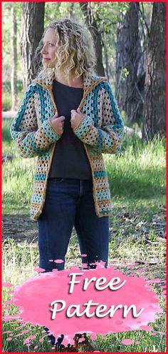 11 Cardigan Crochet Free Pattern Women - Crochet Projects and Ideas - Crochet Cardigan Pattern Free Women, Crochet Patterns Free Women, Crochet Mittens Free Pattern, Kids Knitting Patterns, Free Crochet, Crochet Top, Crochet Blouse, Irish Crochet, Easy Crochet