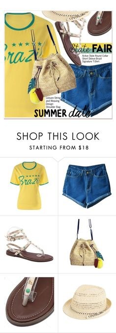 """Summer Date: The State Fair 3"" by paculi ❤ liked on Polyvore featuring Oasis, statefair and summerdate"