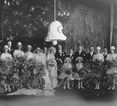 A Legendary Southern Wedding: The April 29, 1924 wedding was a defining event in the 1920s South. The groom was the Honorable John F. A. Cecil, a British diplomat, and the bride, Cornelia Vanderbilt, was the heir of the Biltmore Estate's sprawling mansion and grounds. | Garden and Gun