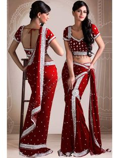 45 Ideas For Indian Bridal Wear Lehenga Saree Saris, Indian Dresses, Indian Outfits, Indian Clothes, Beauty And Fashion, Women's Fashion, Fashion Dresses, Fashion Design, Fashion Trends