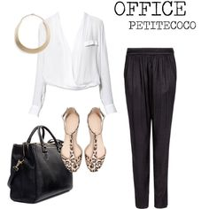 """OFFICE OUTFIT"" by petitecoco20 on Polyvore"