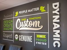 Mission Statement Signs - Core Values Wall Sign | Woodland Manufacturing
