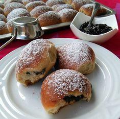 KVÁSKOVÉ ŠPALDOVÉ BUCHTY Valspar, Healthy Sweets, Bagel, Hamburger, Foodies, Food And Drink, Bread, Cooking, Eastern Europe