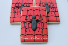 Galletas spiderman