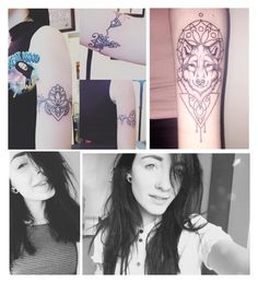 """""""// me and my tattoos🤷 //"""" by alltimecharis ❤ liked on Polyvore featuring art"""