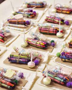 Ideas cucas para decorar la mesa de los niños en una boda