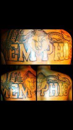 Tennessee Tattoo With Memphis Skyline Stuff I Wanna Do