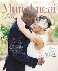 My headpiece was featured in Munaluchi Bridal Magazine!!! Wedding Hair Clip Bridal FascinatorFrench Net by kathyjohnson3